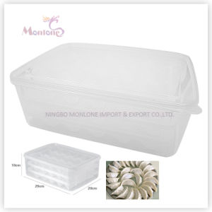 Food Grade Plastic Dumpling Storage Box pictures & photos