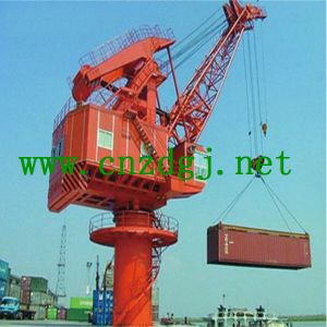 Marine Single Jib Port Crane for Lifting pictures & photos