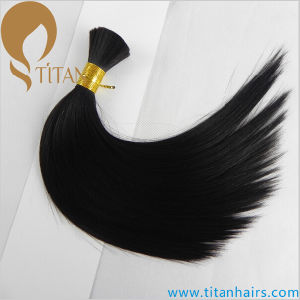 100% Remy Human Hair Bulk Can Be Dyeabled