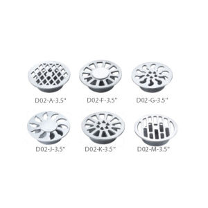 Stainless Steel Sanitary Accessories Round Basin Drainage (D02-C-3.5′′) pictures & photos