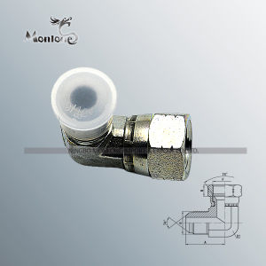 Forged Carbon Steel Running Nipple Hydraulic Hose Fitting pictures & photos