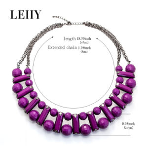 Hot Fashion Acrylic Choker Necklace Jewelry Choker Designs for Women pictures & photos