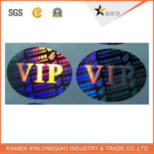 3D Security Holographic Printed Decal Adhesive Label Printing Laser Hologram Sticker pictures & photos