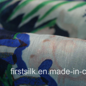 Silk Linen Voile Fabric for Fashion pictures & photos