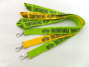 Customize a Fashion Cute Green Lanyard pictures & photos