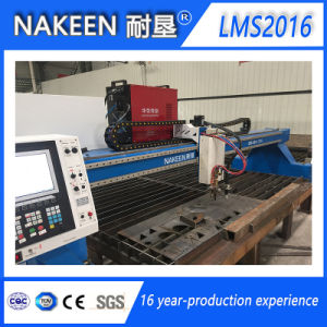 Gantry CNC Gas/Plasma Cutting Machine Lms2016 pictures & photos