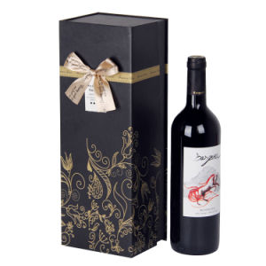 Customed Packaging Paper Wine Gift Box (WB14-1)