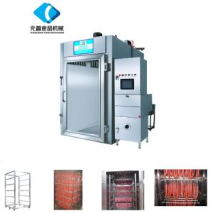 Smoked Meat Machine 500kg / Furnance pictures & photos