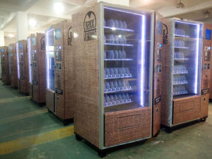 "Large Snack & Drink Combo Vending Machine with 12""LCD Ad-Screen (KM006-M12) pictures & photos"
