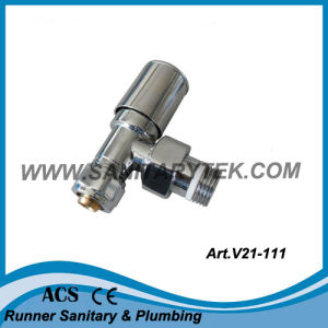 Angle Radiator Valve for Pex-Al-Pex Pipe (V21-111) pictures & photos