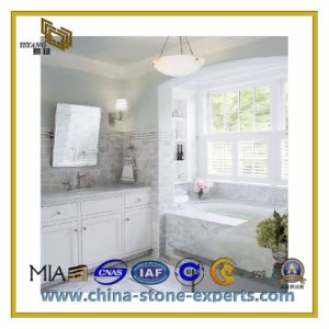 Natural Stone Polishing Wall Decoration Carrara White Marble Slabs (YQC) pictures & photos