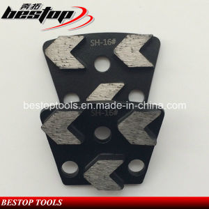 Super Hard Bond Arrow Shape Concrete Diamond Grinding Segments pictures & photos