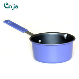 Fashion Home Basic Classic Black Nonstick Saucepan Induction Bottom pictures & photos