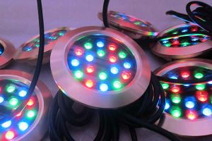 Hot Fashion 23W IP68 Fountain LED Underwater Light (SLW-08) pictures & photos