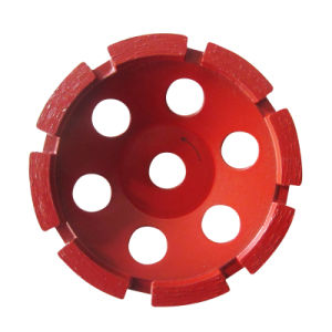 115mm Single Row Diamond Polising Abrasive Grinding Cup Wheel pictures & photos