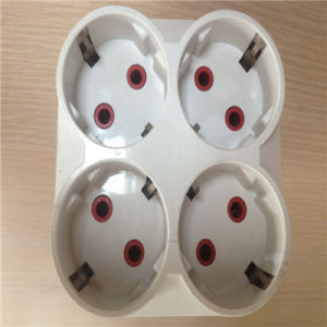 European Socket Adapter Adaptor ABS Plug (RJ-3131) pictures & photos