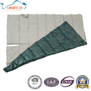 Cotton Sleeping Bag for Two Person Used Camping