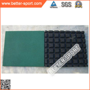 Rubber Flooring Mat Tile, EPDM Rubber Tile pictures & photos