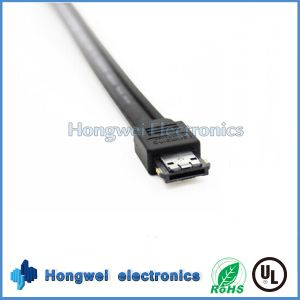 Perfessional 7p Male eSATA to Male eSATA Cable for Computer Hard Disk pictures & photos
