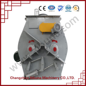 High Efficiency Non-Gravity Double Shafts Paddle Mixer pictures & photos