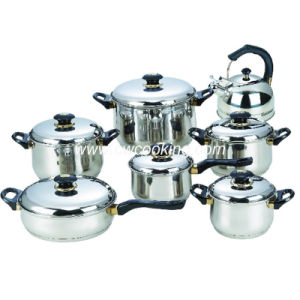 14PCS Stainless Steel Cookware Set- Bakelite Handle pictures & photos