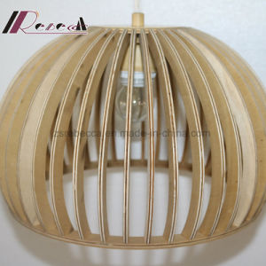 Modern Retro Wood Pendant Lamp for Dining Room pictures & photos