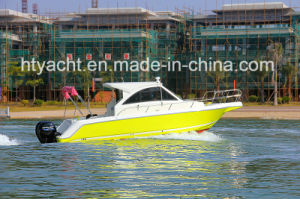 30′ FRP American Family Leisure Fishing Boat Hangtong Factory-Direct pictures & photos