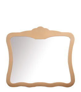 Rose Golden Wall Hang Stainless Steel Glass Mirror pictures & photos