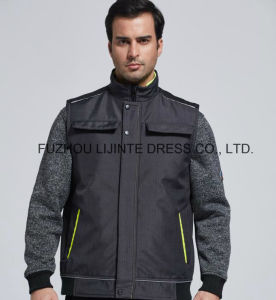 Detachable Lining Reflective for Worker Vest pictures & photos