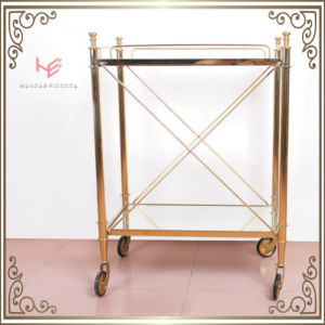 Trolley (RS150503) Liquor Cart Trolley Stainless Steel Furniture pictures & photos
