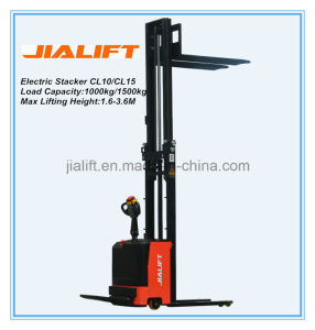 Electric Stacker CL1526 pictures & photos
