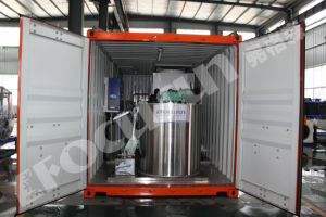 Containerized Flake Ice Machine for Aquatic Fishing Newest Design pictures & photos