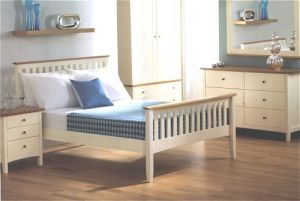 White Modern Wooden Furniture Hotel Furniture Bedroom Furniture Bed pictures & photos