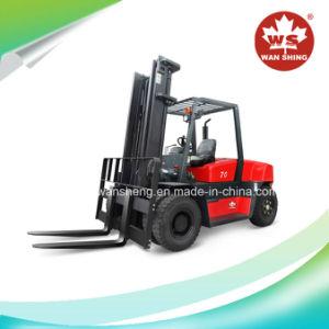 Most Popular Model 7 Ton Diesel Forklift / 7000kg Forklift Truck pictures & photos