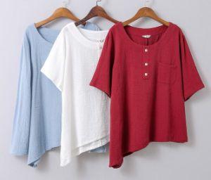 Three Color Women`S Korea Styel Shirt pictures & photos