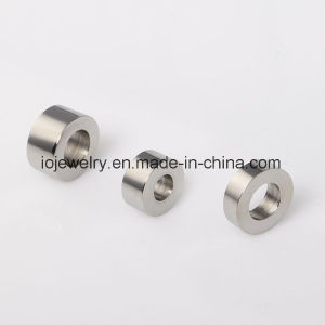 Plain Metal Logo Engraving Beads Custom Jewelry pictures & photos