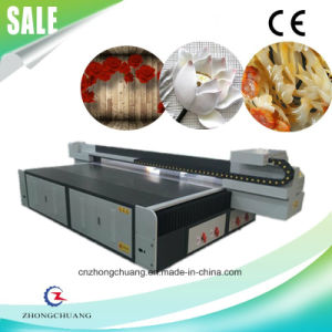 Inkjet UV Digital Flatbed Printer for Printing Glass/ Tiles/ Wood pictures & photos