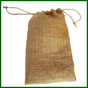 Jute Drawstring Burlap Nuts Bag for 2.5kg Packing pictures & photos