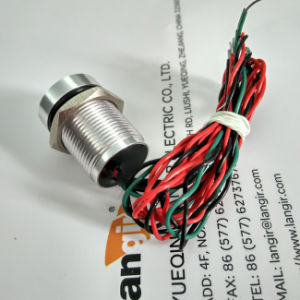 16mm Dual Color (Bi-Color) Green/ Red Momentary Piezo Switch IP68 pictures & photos