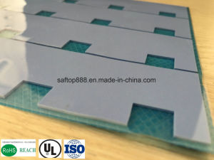 High Temperature Therma Silicone Insulator 4W for PCBA Free Sample RoHS Gap Pad ISO Manufacturer pictures & photos