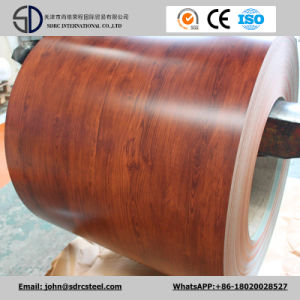 Wood Pattern Color Coated Steel PPGI/PPGL Sheet in Coil 0.2-2.0mm*600-1250mm pictures & photos
