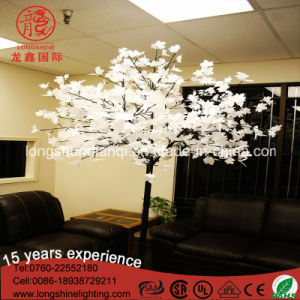 PVC Outdoor Palm Coconut Maple Christma Tree Decoration Tree Light pictures & photos