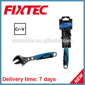 Fixtec Hand Tool Hardware CRV Material Adjustable Wrench pictures & photos