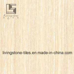 Yellow Line Stone Polished Porcelain Tile pictures & photos