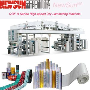Qdf-a Series High-Speed Paper Dry Lamination Machine pictures & photos