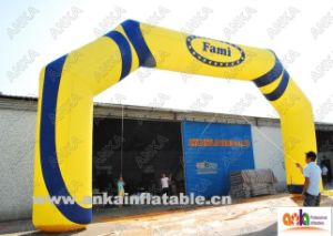 Big Inflatable Entrance Gate Arch for Sports or Advertising pictures & photos
