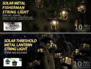 Solar Metal Fisherman String Lantern pictures & photos