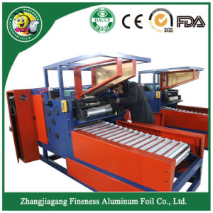 Aluminum Foil Machine for Family Size Aluminum Foil Rolls pictures & photos