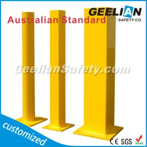 Strong and Durable Stainless Steel Bollard Barrier/ Powder Coated Metal Traffic Security Bollards pictures & photos