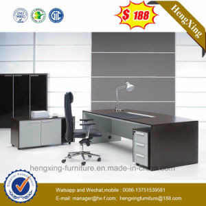 Modern Executive Table L-Shape Office Desk (HX-G0200) pictures & photos